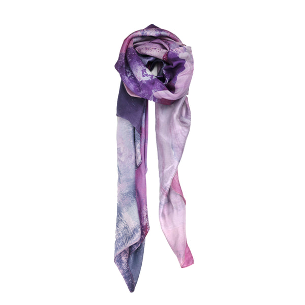 Rose Silk Scarf