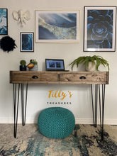 Load image into Gallery viewer, Industrial Style Console / Desk / Dressing Table
