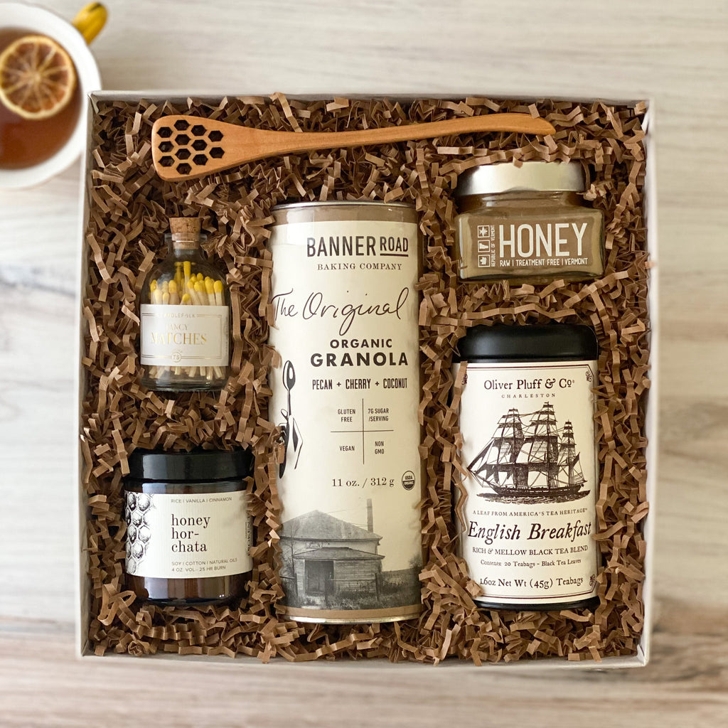Morning-Boost-Breakfast-Granola-Tea-Sparrow-Gift-Box-American-Made