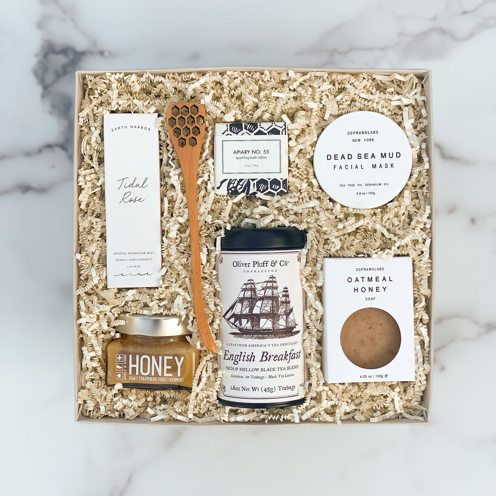 Refresh-women-spa-tea-honey-sparrow-gift-box-american-made