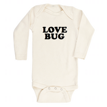 Load image into Gallery viewer, Love Bug - Organic Bodysuit - Long Sleeve