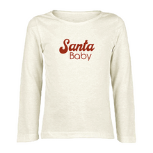 Load image into Gallery viewer, Santa Baby - Organic Tee - Long Sleeve