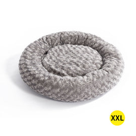 Pet Bed Dog Cat Nest Calming Donut Mat Soft Plush Kennel Cave Deep Sleeping XXL