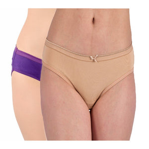 WOMEN COMBO OF 2 ASSORTED BIKINI BRIEFS