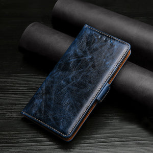 Flip Magnetic Soft Leather Wallet Cover Case For Google Pixel5