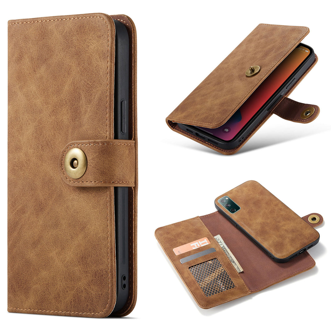 2 In 1 Detachable Wallet Leather Case For Samsung S20 Series