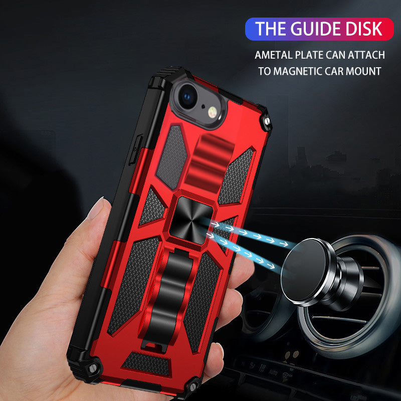 Blindaje De Lujo Con Kickstand Para El iPhone 6 Plus