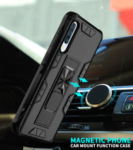 Load image into Gallery viewer, 2020 Luxury Magnet Kickstand Car Holder Ring Phone Case For SAMSUNG A50S