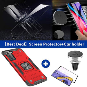 【HOT】Vehicle-mounted Shockproof Armor Phone Case  For SAMSUNG Galaxy S21Plus 5G