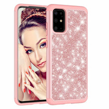 Load image into Gallery viewer, 2 in 1 Glitter Gel Back Soft Case For Samsung Galaxy