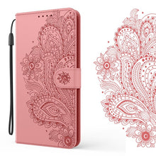 Load image into Gallery viewer, Peacock Embossed Imitation Leather Wallet Phone Case For Samsung S20FE