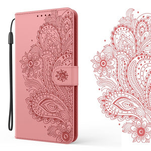 Peacock Embossed Imitation Leather Wallet Phone Case For Google Pixel 3A