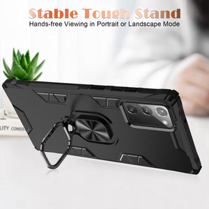 Shockproof Magnetic Kickstand 360 Full-Body Protective Case For Samsung Note20/Note20 Ultra