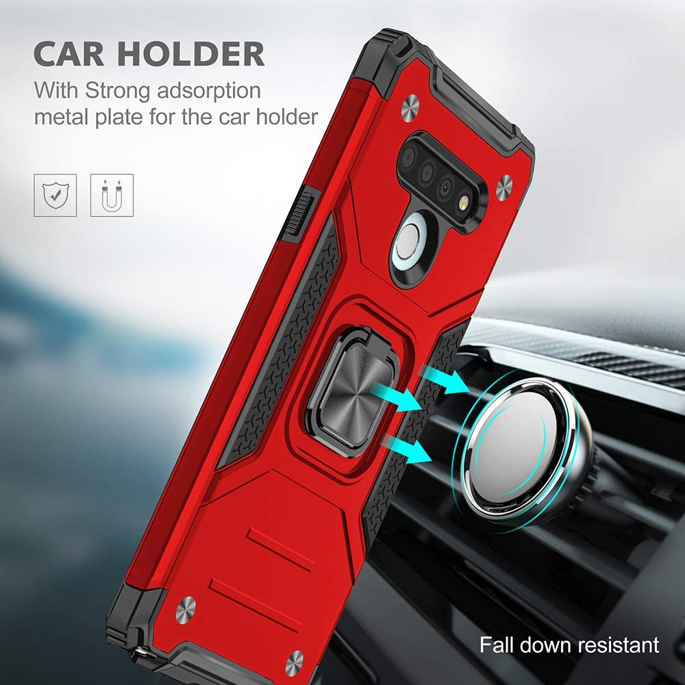 2021 Vehicle-mounted Shockproof Armor Phone Case  For LG STYLO 6