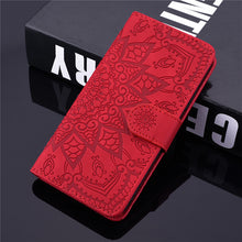 Load image into Gallery viewer, Flip Leather 3D Embossed Phone Case For Samsung