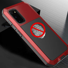 Load image into Gallery viewer, 2021 NEW Luxury Doom Armor Waterproof Metal Aluminum Phone Case For Samsung S20