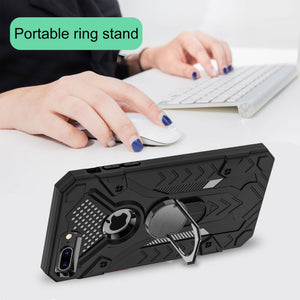 2021 New Finger Ring Anti-Drop Phone Case For iPhone 7Plus/8Plus