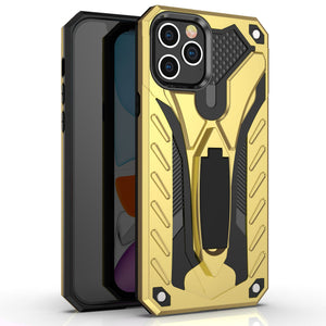 Protective Case With Invisible Stand Function For iPhone