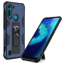 Laden Sie das Bild in den Galerie-Viewer, 2020 Luxury Magnet Kickstand Car Holder Ring Telefon Case for MOTO G8 POWER Lite