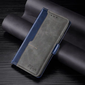 New Leather Wallet Flip Magnet Cover Case For Samsung Galaxy Note Series