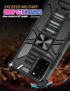 2021 ALL New Luxury Armor Shockproof With Kickstand  For SAMSUNG S20 Plus