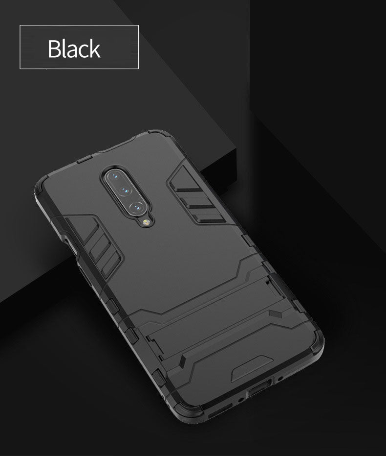 2020 New Shockproof Special Armor Bracket Phone Case For OnePlus