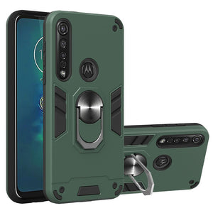 First Order 15% OFF+Buy 2 Get 10% OFF!4-in-1 Special Armor Ring Case For Motorola G8 Series
