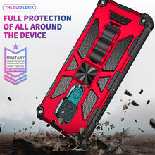 Load image into Gallery viewer, 2021 All New Armor Shockproof With Kickstand For MOTO G9 Play