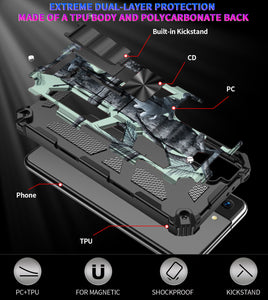 2021 New Luxury Armor Shockproof Case With Kickstand For Samsung S21/S21PLUS