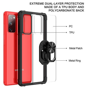 2020 Ultra Thin 2-in-1 Four-Corner Anti-Fall Sergeant Case For Samsung S20 SERIES