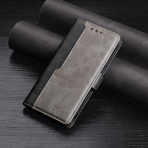 New Leder Brieftasche Flip Magnet Cover Case für iPhone 12-Serie