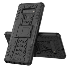 Load image into Gallery viewer, Rubber Hard Armor Cover Case For LG