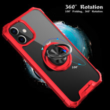 Load image into Gallery viewer, 2021 Ultra-thin Four-Corner Anti-Fall Magnetic Ring Case For iPhone 12 Mini