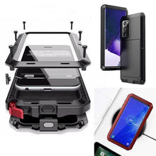 Load image into Gallery viewer, Luxury Doom Armor Waterproof Metal Aluminum Phone Case For Samsung NOTE20