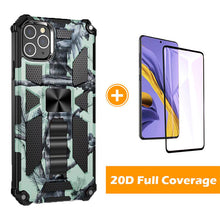Load image into Gallery viewer, 2021 New Luxury Armor Shockproof With Kickstand For iPhone 11Pro