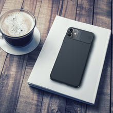 Load image into Gallery viewer, 【Black Mirror】Luxury Slide Phone Lens Protection Case for iPhone 11