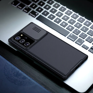 【Black Mirror】Luxury Slide Phone Lens Protection Case for Samsung NOTE20/NOTE20ULTRA