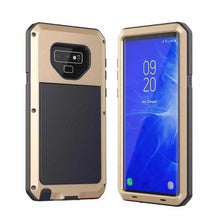 Load image into Gallery viewer, Luxury Doom Armor Waterproof Metal Aluminum Phone Case For Samsung S9