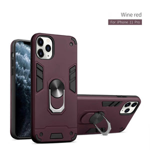 2020 All New 4-in-1 Special Armor Phone Case For iPhone 7/8