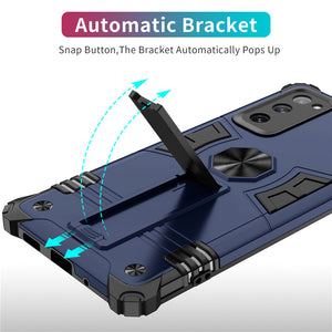 Invisible Bracket Armor Anti-Fall Magnetic Car Phone Case For Samsung S20FE
