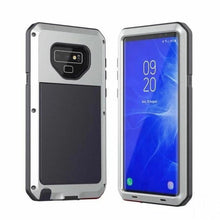 Load image into Gallery viewer, Luxury Doom Armor Waterproof Metal Aluminum Phone Case For Samsung S8
