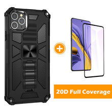 Load image into Gallery viewer, 2021 Luxury Armor Shockproof With Kickstand For iPhone 12 Pro Max