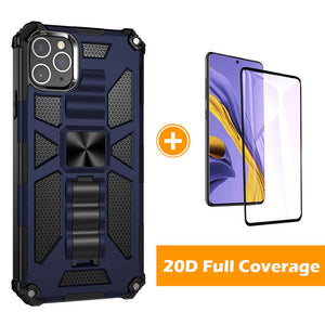 2021 Luxury Armor Shockproof With Kickstand For iPhone 12 Pro Max