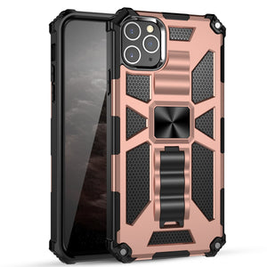 Luxury Armor Shockproof With Kickstand For iPhone