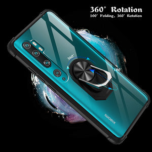 Ultra Thin 2-in-1 Four-Corner Anti-Fall Sergeant Case For XIAOMI NOTE10 Lite