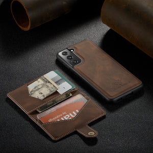 New Magnetic Wallet Phone Case For Samsung S21/S21PLUS