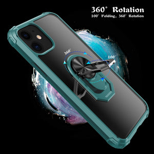 2020 Ultra Thin 2-in-1 Four-Corner Anti-Fall Sergeant Case For iPhone 11 Series
