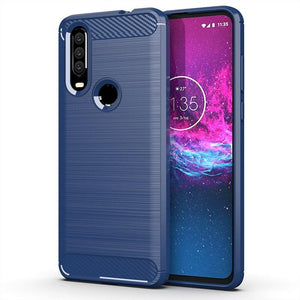 Luxury Carbon Fiber Case For Motorola