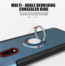 Load image into Gallery viewer, Simplicity Shockproof Ring Phone Case For Oneplus 7