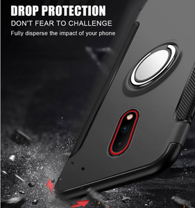 Simplicity Shockproof Ring Phone Case For Oneplus 7